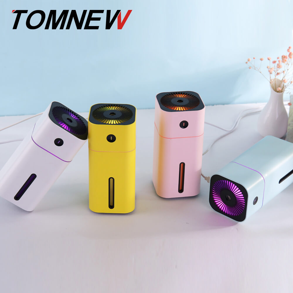 180ML D CUP Humidifier USB Air Cleaner With Heavy Vertical Fog Ultrasonic Fine Mist Maker With Colorful Atmosphere Night Light