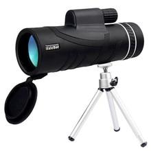 лучшая цена Monocular 40x55 Powerful Telescope HD Zoom Optical Spyglass lll light night vision Military HD Professional Hunting