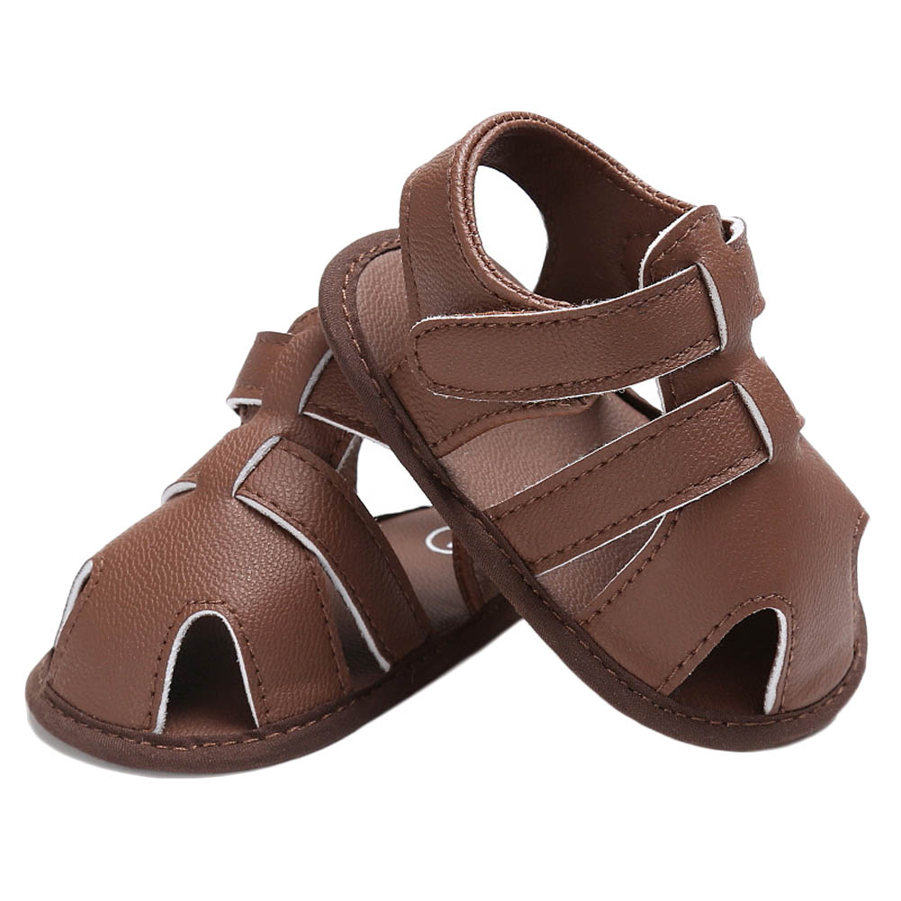 Hot SALE Baby Sandals Summer Hot Sale Captain Soft Leather Boys Kids Fashion Beach Sandals High Quality