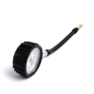 Image 4 - Ống Dài Xe Hơi Xe Đạp Xe Máy Lốp Đồng Hồ Đo Áp Lực Khí Đo Đồng Hồ Đo Áp Suất Lốp Xe 0 100 PSI Đồng Hồ Xe máy Kiểm Tra Hệ Thống Giám Sát