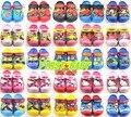 Meninos das meninas da forma dos desenhos animados 3D spiderman gatinho sandálias verão fresco crianças sandálias princesa sapatos chinelos de praia flip flop secador de cabelo