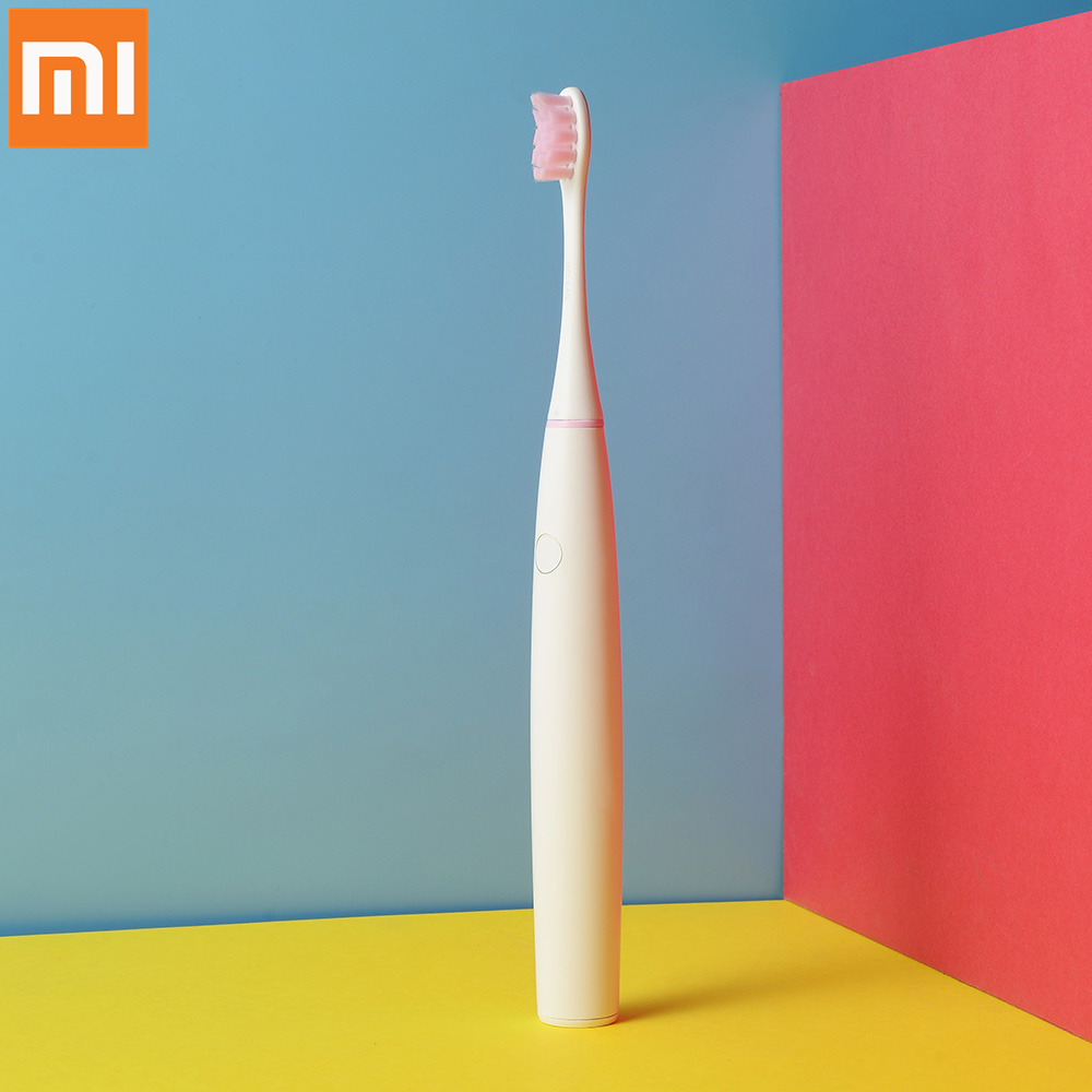 Xiaomi Oclean Air Rechargeable Sonic Electrical Toothbrush Intelligent APP Control With Pressure Sensitive Button lacywear dg 45 app