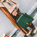 2017 new winter Vintage women messenger Bag fashion brand Shoulder Bag ladies small tide lock postman tote Crossbody handbags