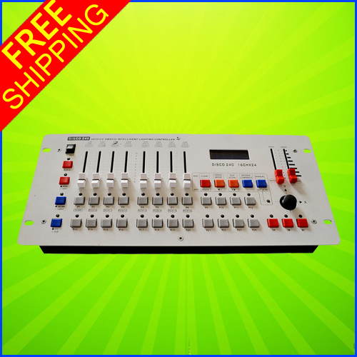 цены  Professional Hot Sell 240 Diso DMX Controller DMX 512 DJ Console Equipment For Stage Wedding And Event Lighting