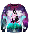 Trippy Space Triangle Sweatshirt triangle Galaxy Nebula Space 3D Print Sweats Women Men Autumn Fall Style Jumper Outfits