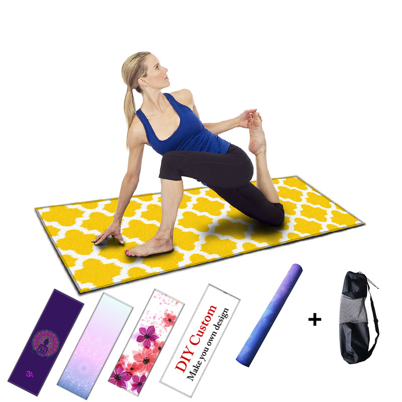 Floding Yoga Exercise Mat Pilates Pad Fitness Mats For