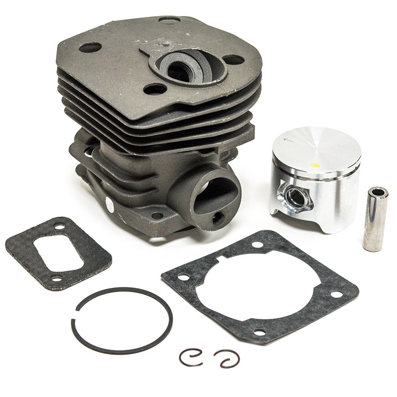 New 44mm Cylinder Piston & Ring Kit For Husqvarna 350 346 351 353 Chainsaw Parts