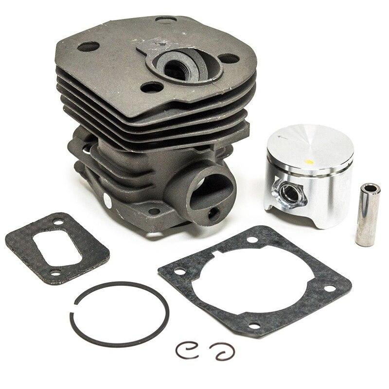 Novo 44mm cilindro pistão & anel kit para husqvarna 350 346 351 353 motosserra peças