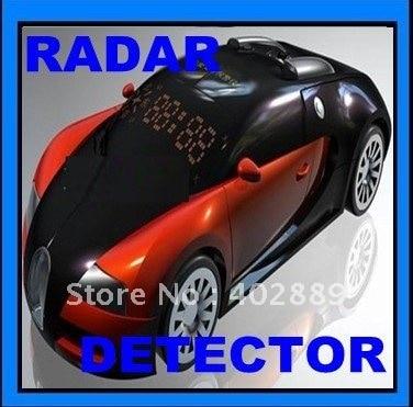 Car radar detector Russian  car model design Anti-Radar Detector support Russina/English Free shipping
