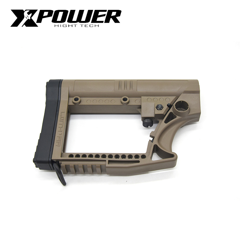 XPOWER Paintball  LUTH MBA-4 Stock For Airsoft Air Guns Paintball Accessories Tactical CS Sports JM9 Wells M4 AK Gearbox