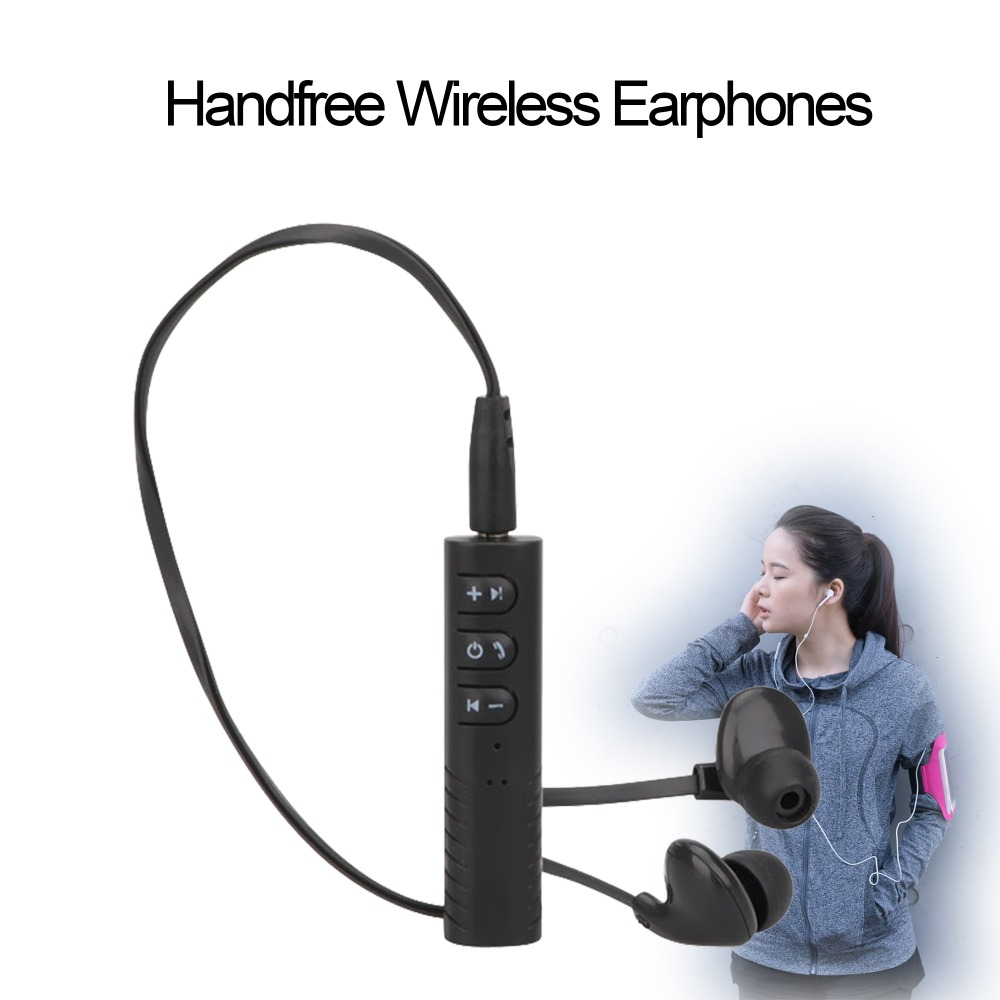Sport Wireless Bluetooth Headset Collar Clip Earphone With Microphone Stereo Music mini Portable Handsfree earphone garnish clip sport stereo mini clip on bluetooth headset wireless bluetooth handsfree clip earphone headphone clamp collar for samsung iphone