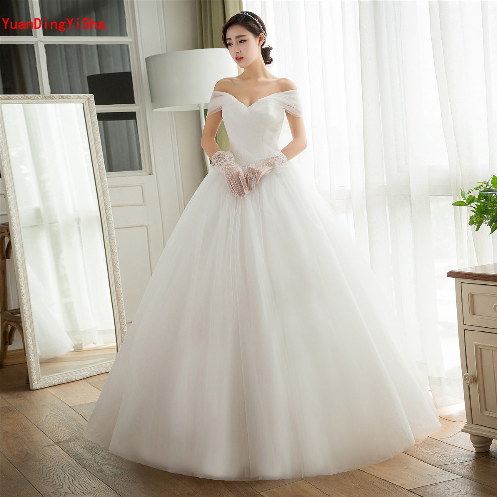 Real Simple Weddings 2017: Real Pictures Tulle Bow Wedding Dress 2017 Strapless Lace