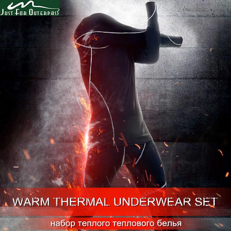 2019 новое осенне-зимнее термобелье мужские быстросохнущие Стрейчевые антимикробные теплые кальсоны мужские повседневные термобелье Набор