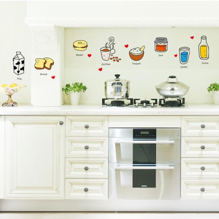 Kitchen Cabinet Decals