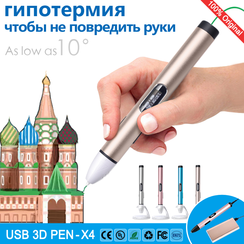 цены на 3d pen 3d pens Low temperature,protect hands,3 d pen 3d model,Support mobile power supply,3d printing pen,LED display  в интернет-магазинах