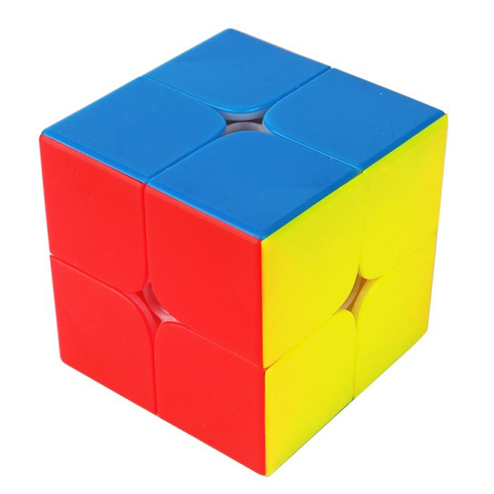 2019 New Arrivals  Cubing Classroom MF2 2x2 Magic Cube Puzzle Toys For Competition Challenge - Matte Colorful