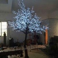 3.0 Mètres 2784led blanc arbres de noël artificiels cerise blossom floows pour L'europe/Amérique Du Nord