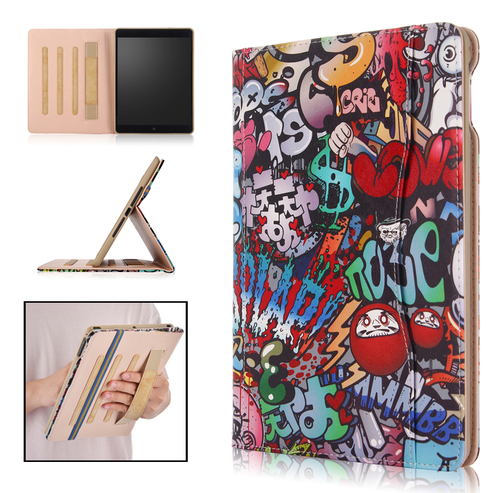 For iPad 9.7 2018 2017 A1893 A1954 Tablet Stand PU Leather Smart Cover Case For Apple ipad 2018 case for ipad air air 2 popular pattern pu leather case with card slots for apple ipad air 2 case folio stand protector skin for ipad air 2 cover 2017