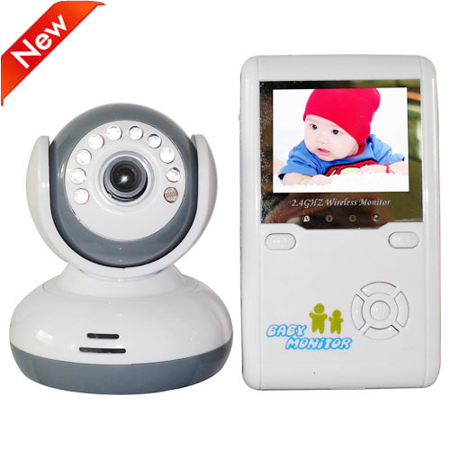 2.4 GHz Wireles Baby Monitor Radio Nanny Babysitter Digital Video Babyfoon Camera Night Vision Color Display Babyphone Camera