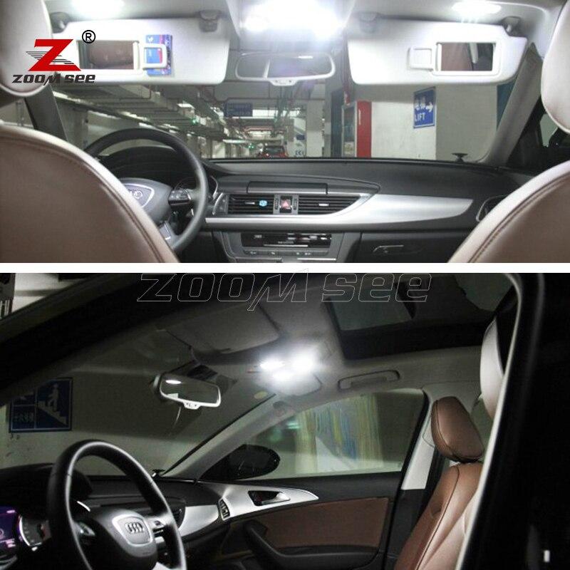 14 шт. х Хороший CANBUS ОШИБОК Интерьер Чтение плафон комплект Вышивка Крестом Пакет для Audi A6 S6 RS6 C7 седан(2012