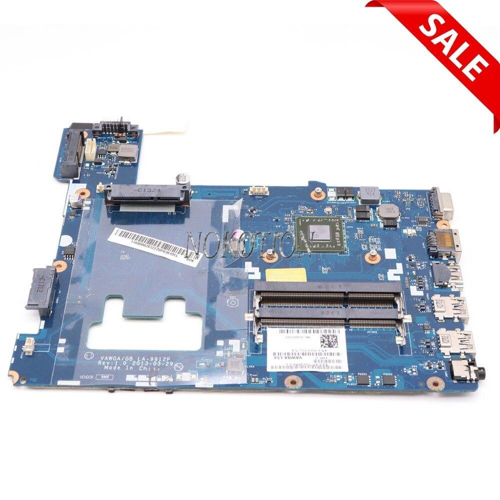 NOKOTION Carte Mère VAWGA GB LA-9912P Rev 1.0 pour lenovo ideapad G405 mère d'ordinateur portable DDR3