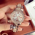 Luxury Women Watches Fashion Woman Rhinestone Watch Austria Crystal Steel Watches Female Quartz Wristwatches Lady Dress Watch