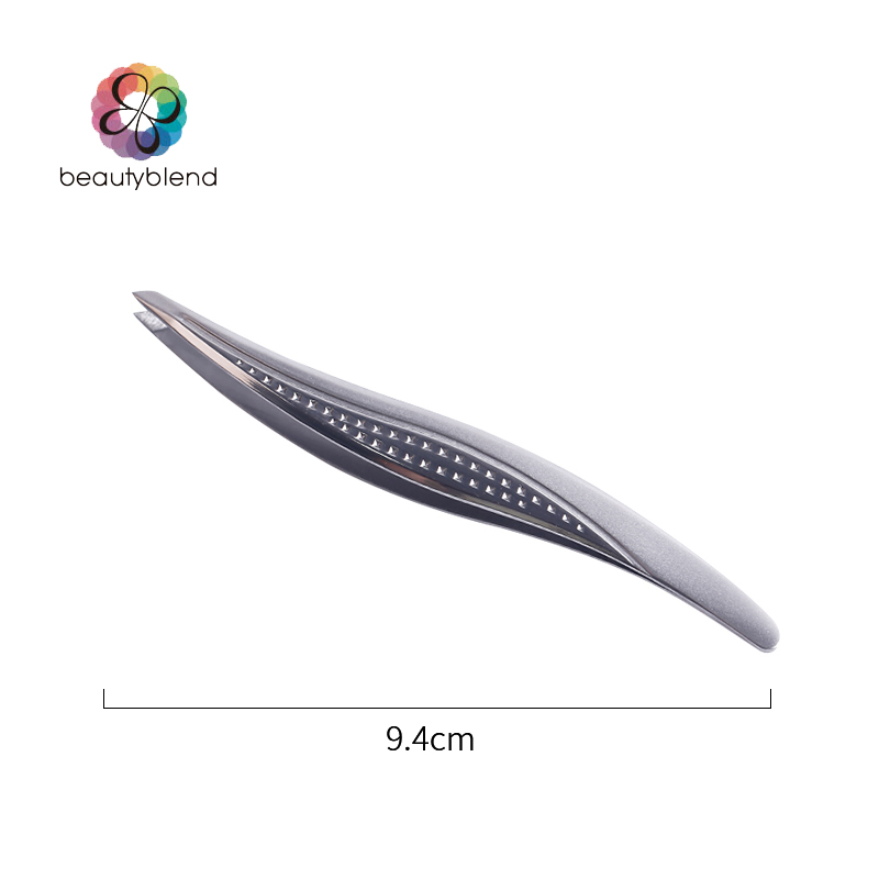 Beautyblend Brand C 8009 font b Makeup b font Tools Willow Shaped Eyebrow Clip Stainless Steel