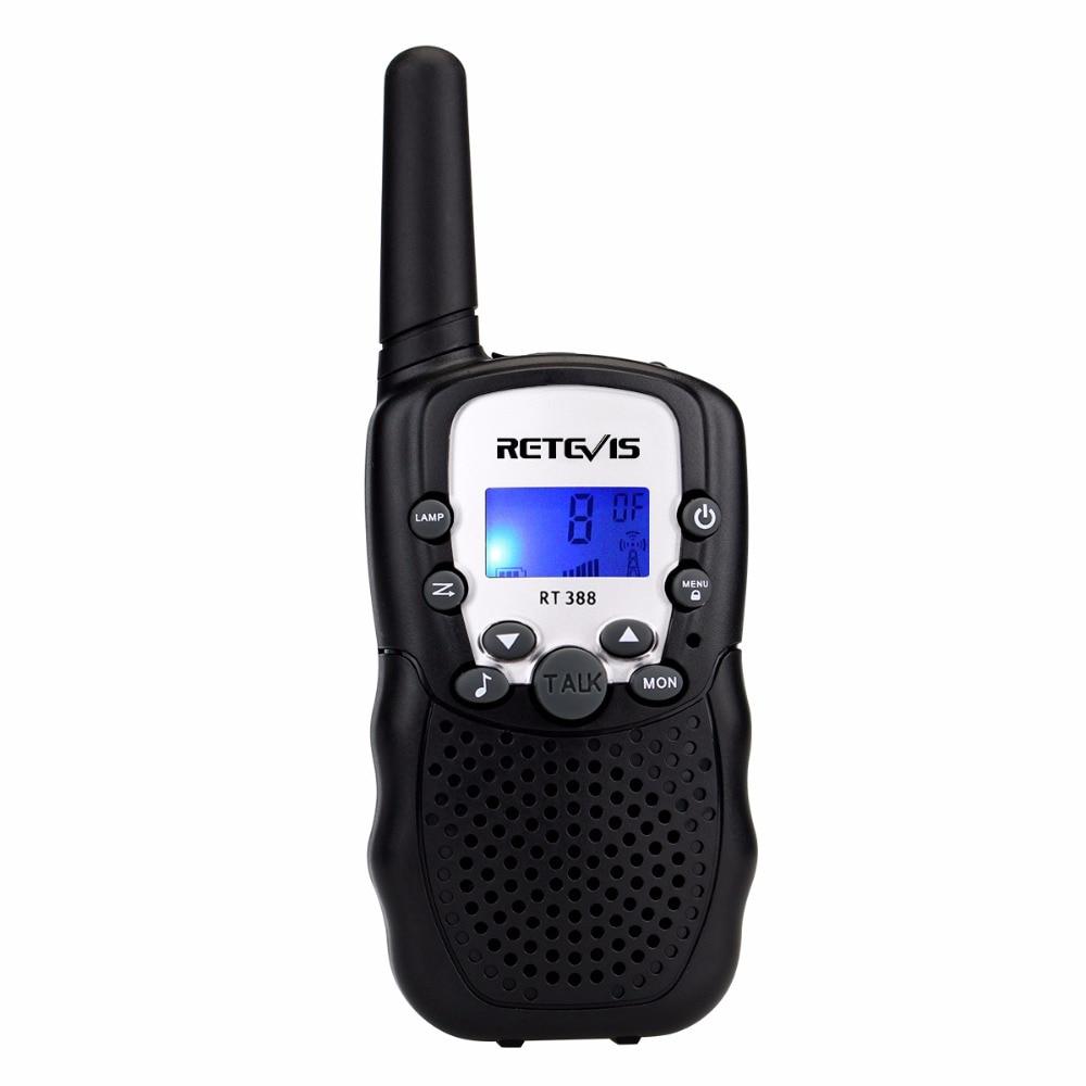 1pc Mini Walkie Talkie Kids Radio Retevis RT388 0.5W UHF 462-467MHz US Frequency Portable Two Way Radio J7027