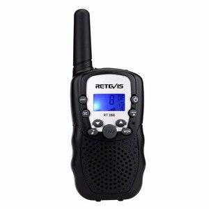 Image 1 - 1pc Mini Walkie Talkie Kinder Radio Retevis RT388 0,5 W UHF 462 467MHz UNS Frequenz Tragbare Zwei weg Radio J7027