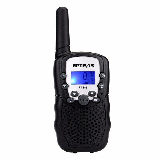 1pc Mini Walkie Talkie Kinder Radio Retevis RT388 0,5 W UHF 462 467MHz UNS Frequenz Tragbare Zwei weg Radio J7027