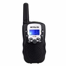 """1pc מיני ווקי טוקי ילדים רדיו Retevis RT388 0.5W UHF 462 467MHz תדר ארה""""ב נייד שני דרך רדיו J7027"""