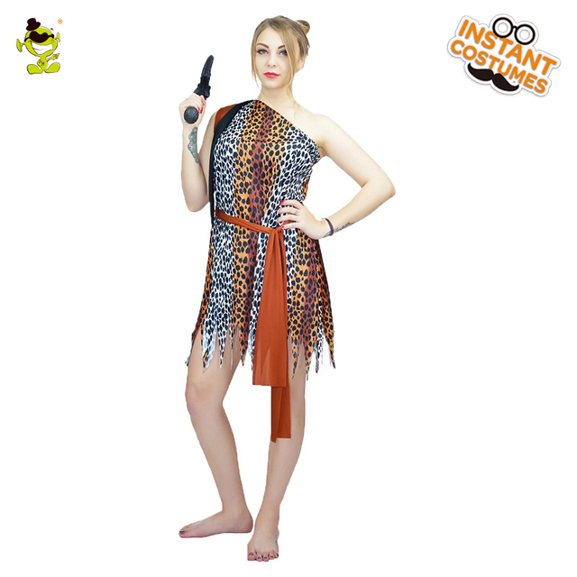 Sexy Cavewoman Costumes Adult Halloween Carnival Ancient Cave Girl Cosplay Fancy Dress Women Pretty Stone Age  sc 1 st  AliExpress.com & Sexy Cavewoman Costumes Adult Halloween Carnival Ancient Cave Girl ...