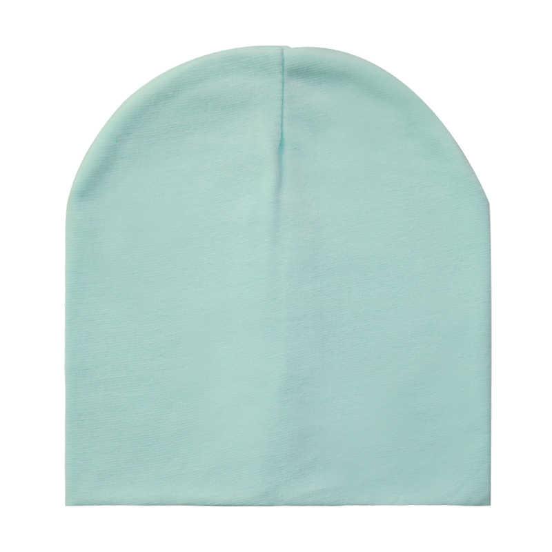 Baby Hüte Baumwolle Einfarbig Baby Mütze kinder Beanie Hut Für Jungen Und Mädchen Kinder Jungen Winter Hut
