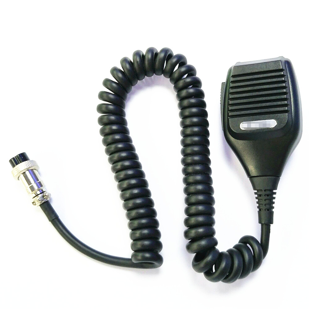 OPPXUN SSUNDELY Hand Handheld Shoulder Speaker Mic for Kenwood Radio Walkie Talkie TS-480HX TM-231 TS-990S Round 8-pin MC-43S