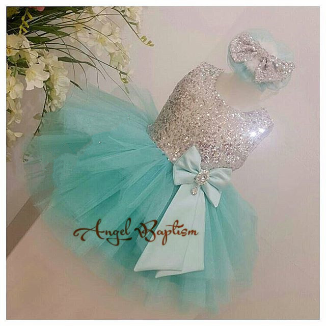 Mint green cute tutu toddler pageant dress sparkly sequin tulle baby 1st birthday party outfits newborn vestido de infant mint green casual sleeveless hooded top