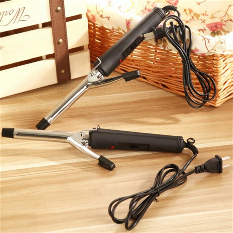 2019 New Hot Selling Professional 16mm Magic Mini Hair Curler Electronic Curling Wand Hair Iron Wave Fast Curling Irons Eu Plug