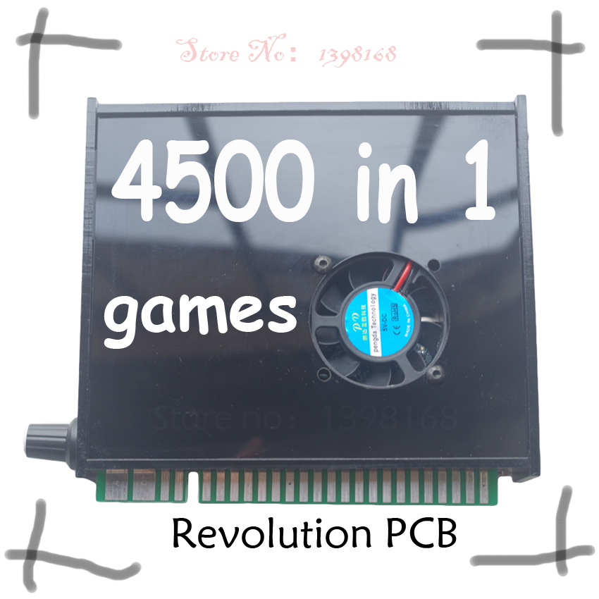 4500 in 1 arcade multi game board jamma Arcade cabinet Box WITH VGA OUTPUT Support save game RUN 3D GAMES video game board 2018 newest hd vga output diy arcade video game machine consoles with 1388 in 1 multi game board pandora s box 6s made in china