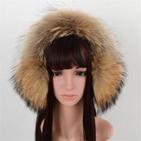 100 Real Fox Fur Earmuffs For Winter Women Warm Natural Raccoon Fur Earmuffs Girl S Ear