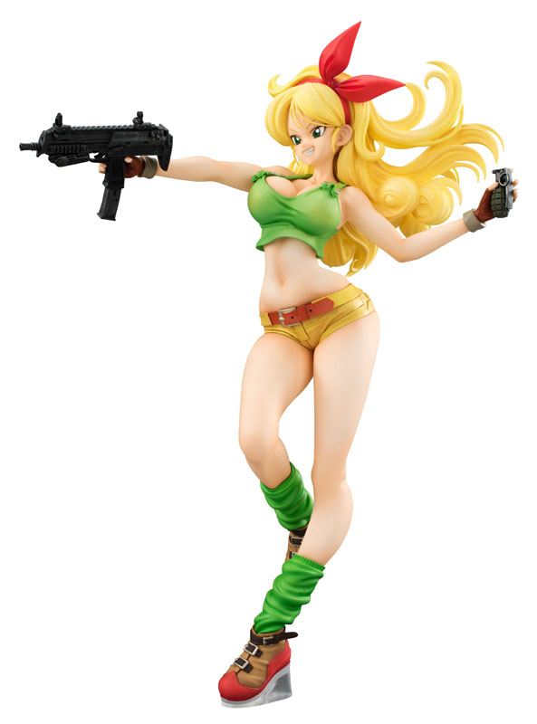 Hot 19cm PVC Dragon Ball Gals <font><b>Android</b></font> <font><b>18</b></font> Lunchi <font><b>sexy</b></font> New figurine toys Ver. <font><b>Collection</b></font> Anime Action <font><b>Figure</b></font> for Christmas gift image