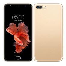 A7 Plus Smartphone 5,5 zoll Kapazitiver Schirm MTK6580 Quad core telefon Android Handy GSM WCDMA 3G 13.0MP Zelle handys