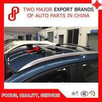 Alta qualidade 1 par cor preta liga de alumínio do carro telhado barra transversal para mazda CX 3 cx3 2017 2018|Caixas e racks p/ telhado| |  -