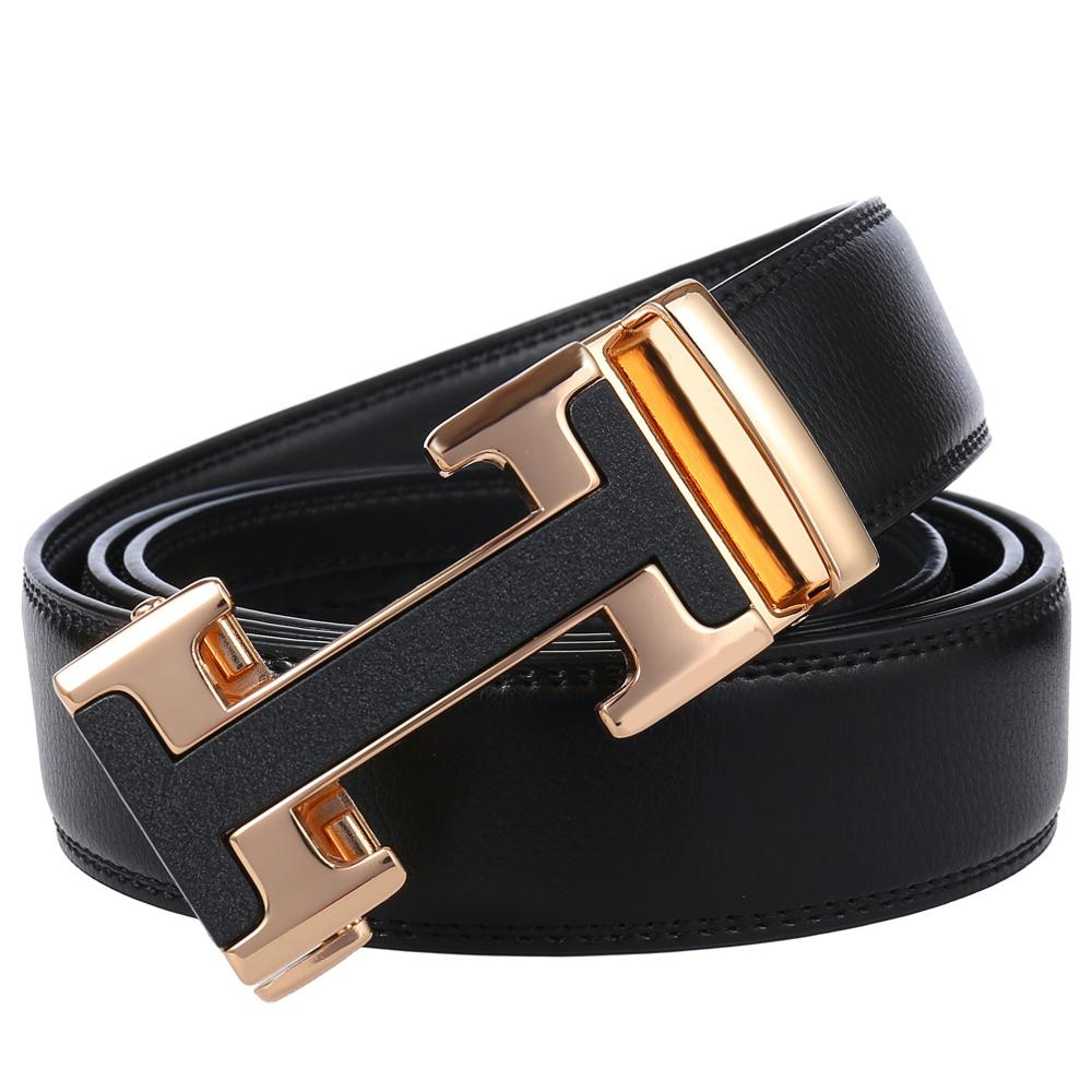 WOMENS ITALIAN REAL LEATHER BELTS AUTOMATIC 35 MM BELT FOR JEANS WOMEN S M L XL