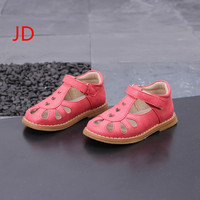 Children S 2018 Spring New Pattern Children Soft Bottom Leather Shoes Baby Hollow Out T Shaped