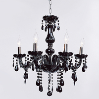 Modern Lamp Fixture Pendant 6 Lights Ceiling Chain Candle Chandelier N4025
