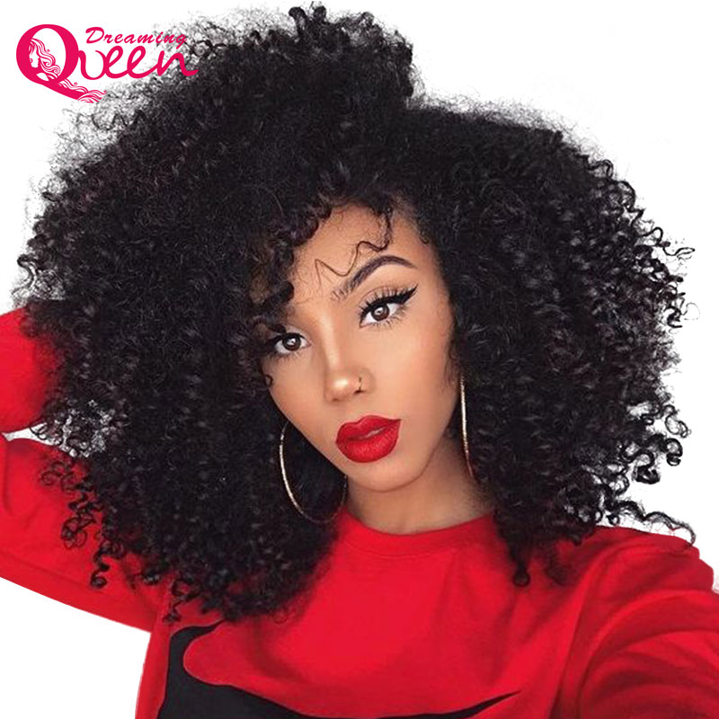 Hot Sale 4b 4c Mongolian Afro Kinky Curly Clip In Human Hair