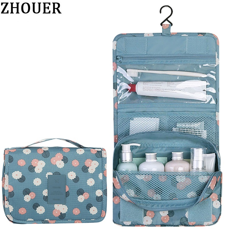 Woman Cosmetic Bags Packing Cubes Organizer Makeup Bag ...
