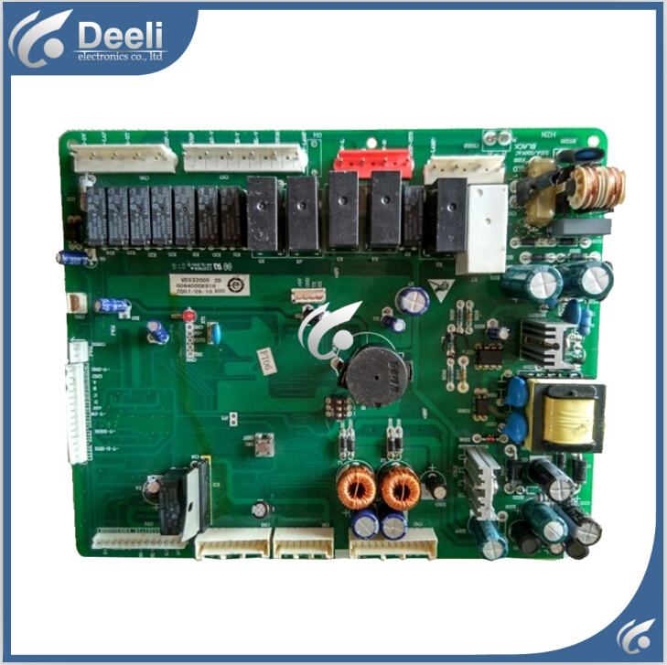 95% new Original  good working for haier refrigerator pc board Computer board inverter board 0064000891h BCD-552WSY BCD-552WYJ 95% new original good working refrigerator pc board motherboard for samsung rs21j board da41 00185v da41 00388d series on sale