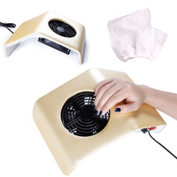Nail Dust Collector Machine for Manicure 10pcs Replacement Bags Set Nail Art Tools Fan Vacuum Cleaner Suction Dust Collector Kit