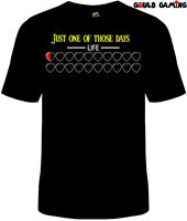 Legend of Zelda Bad Day T Shirt Unisex Cotton Adult Funny Nintendo Link Game New2019 fashionable Brand 100%cotton Printed Round