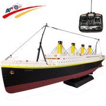 Barco DEL RC 1:325 Titanic Mar Gran Cruise Ship 3D Titanic siglo Clásica Historia de Amor Barco DEL RC de la Alta Simulación de Modelos de Barcos juguetes